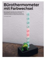 Ein Thermometer mit recyceltem Material bauen
