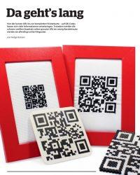 QR-Codes erstellen, und kreativ basteln.