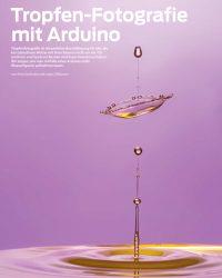 Tropfenfotografie mit dem Arduino